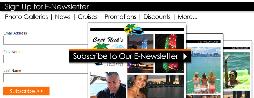 Capt Nicks E-Newsletter Sign-Up